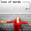 olorwen: Love of words