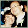 S & me wedding photo