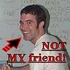 jefF - Crazy Man with a Snake - ON A PLANE!: not my friend