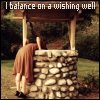 balance on a wishing well - enriana