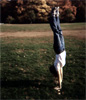 tumbel: grass handstand