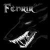 Fenrir black & white wolf
