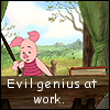Evil piglet