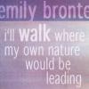 Emily Bronte by Slythwitch