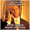 WesM: michel - teacher from charlie brown