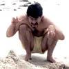Spam: beach monster