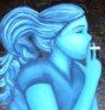 bluecigpainting