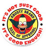 Issokay Today: Krusty's Seal of Approval