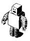 b&w robot