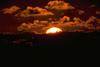 закат с солнцем