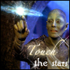 Icepixie: [Farscape] Zhaan touch stars
