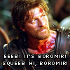 the girl who's a goddess: Boromir!