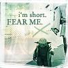 james tiberius kirk: Star Wars//Yoda is short