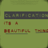 Ped: Clarification = Beautiful