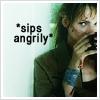 Jordan Catalano: Sips angrily