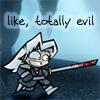 Totally evil Sephiroth
