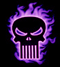 Punisher - skull fire