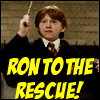 Freckled Satan High Priestess: Ron to the Rescue!