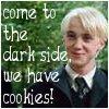 The dark side has cookies