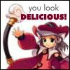 you look delicious