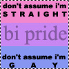 bisexual don't assume