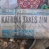 Katrina takes aim