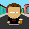 Gil in South Park