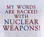 rysmiel: nuclear weapons