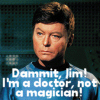 Brendan: Trek - Dr. McCoy - Dammit Jim!
