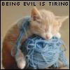 Vanilla  ... Spiked with Slivovitz: evil is tiring