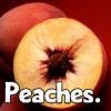 Food: peaches