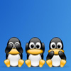 3 wise penguins