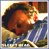 giles sleepy head by me