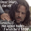 Aragorn--dear diary