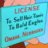 Hair tonic to bald eagles