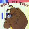 Dustin, Hrair-roo: big hugs