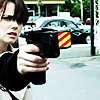 L Word (Jenny) Pointing Taser Gun