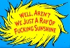 Ray of Sunshine fridge magnet http://valiante.plugnpay.com/