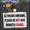 monkey cigar