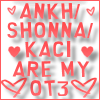 I AM  YOUR WIFE!: Ankh/Shonna/Kaci are my OT3