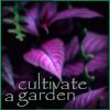 cultivate a garden