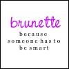 Misha: brunette!