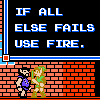 if all else fails, error