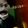 Noelle: angel puppet-spike!