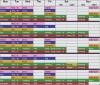 My Insane Schedule