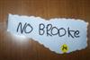 No brooke