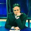 Jon Stewart pondering