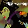 ice woman - Maleficent