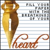 heart pen