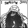 Cynthia: Swallow J00!